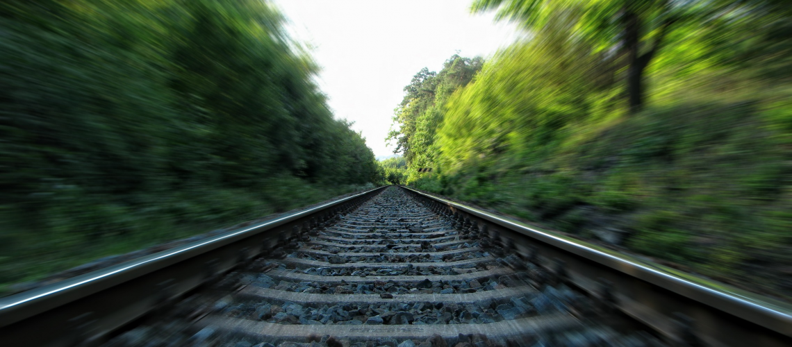 Speeding on the railway